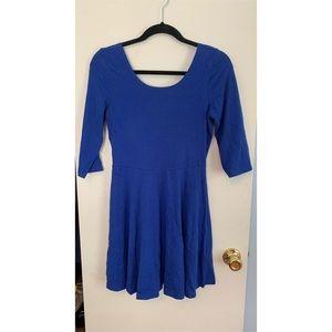 Royal Blue Express Skater Dress